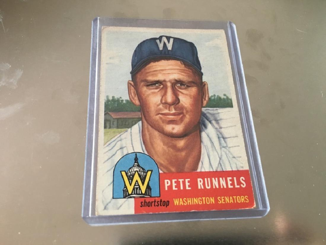 1953 Topps #219 Pete Runnels