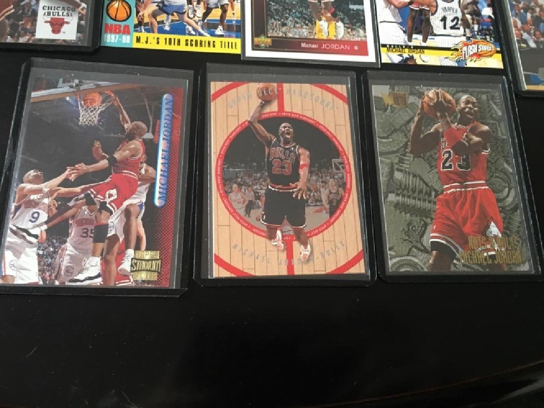 Michael Jordan 8 Card Basketball Lot - 2
