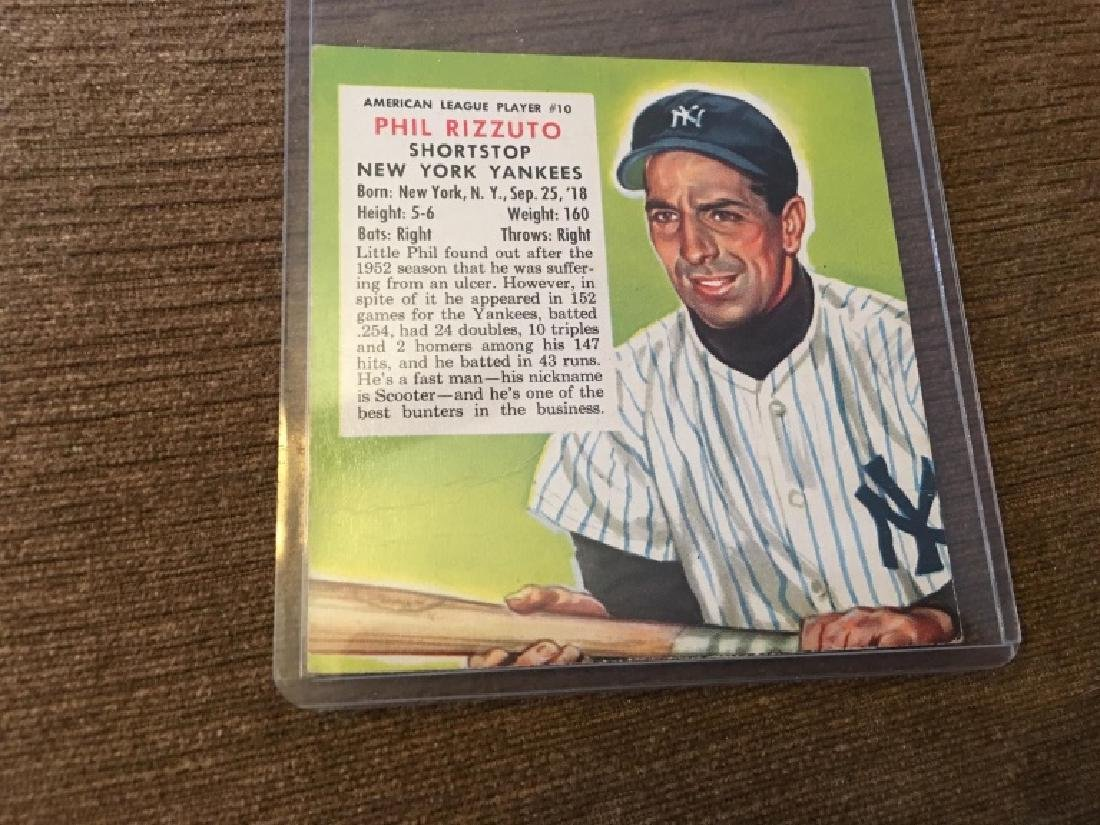 1953 Red Man #10A Phil Rizzuto New York Yankees