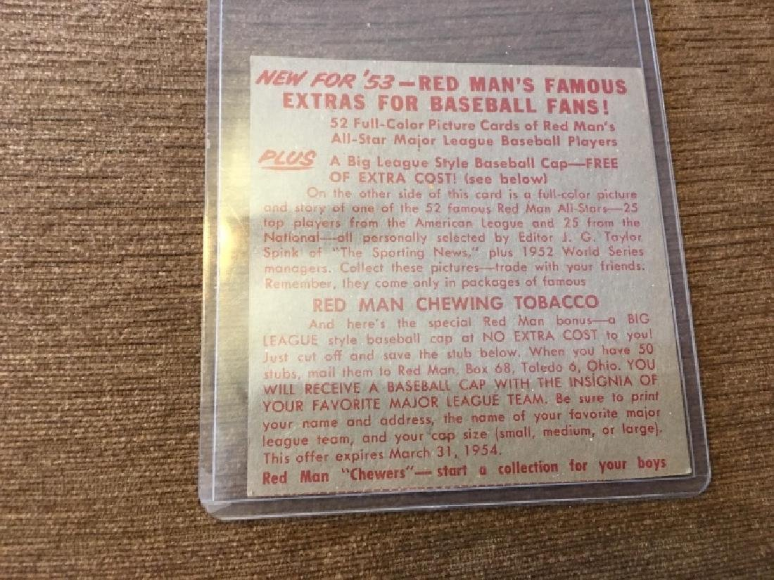 1953 Red Man #10A Phil Rizzuto New York Yankees - 2