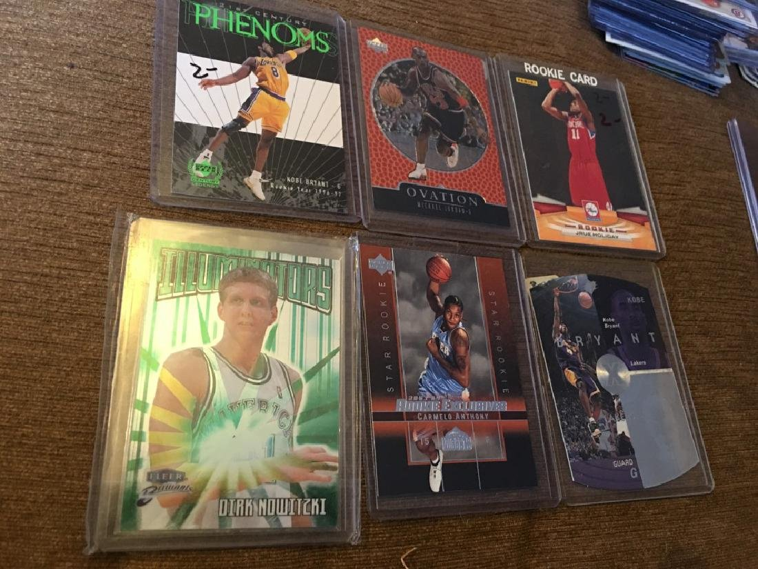 Michael Jordan Carmelo Anthony Kobe Dirk Lot