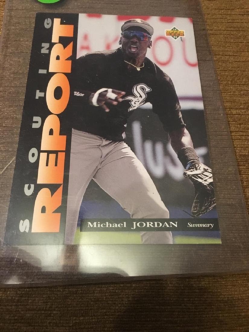 Michael Jordan - 1994 Upper Deck Minors Scouting d