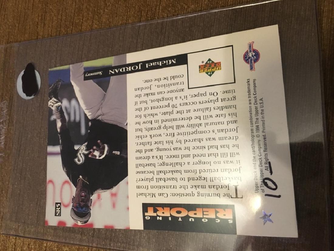 Michael Jordan - 1994 Upper Deck Minors Scouting d - 2