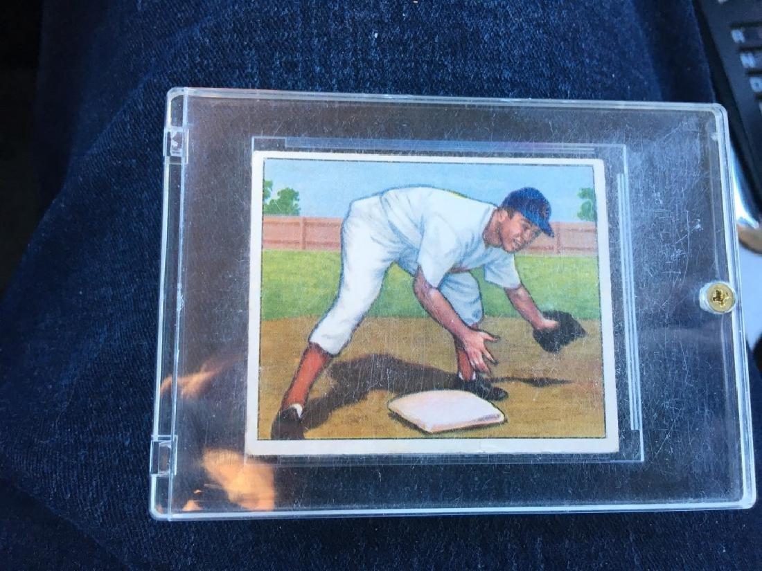 1950 BOWMAN #116 Virgil Red Stallcup Cincinnati Rs