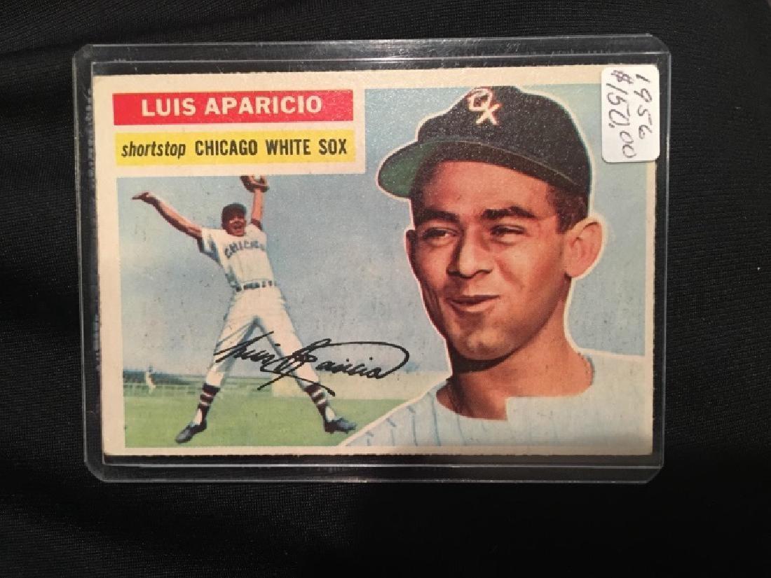 1956 TOPPS LUIS APARICIO RC #292 Nice Shape