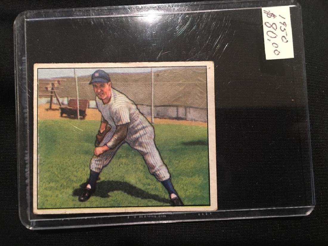 1950 Bowman JOE PAGE #12 *New York Yankees