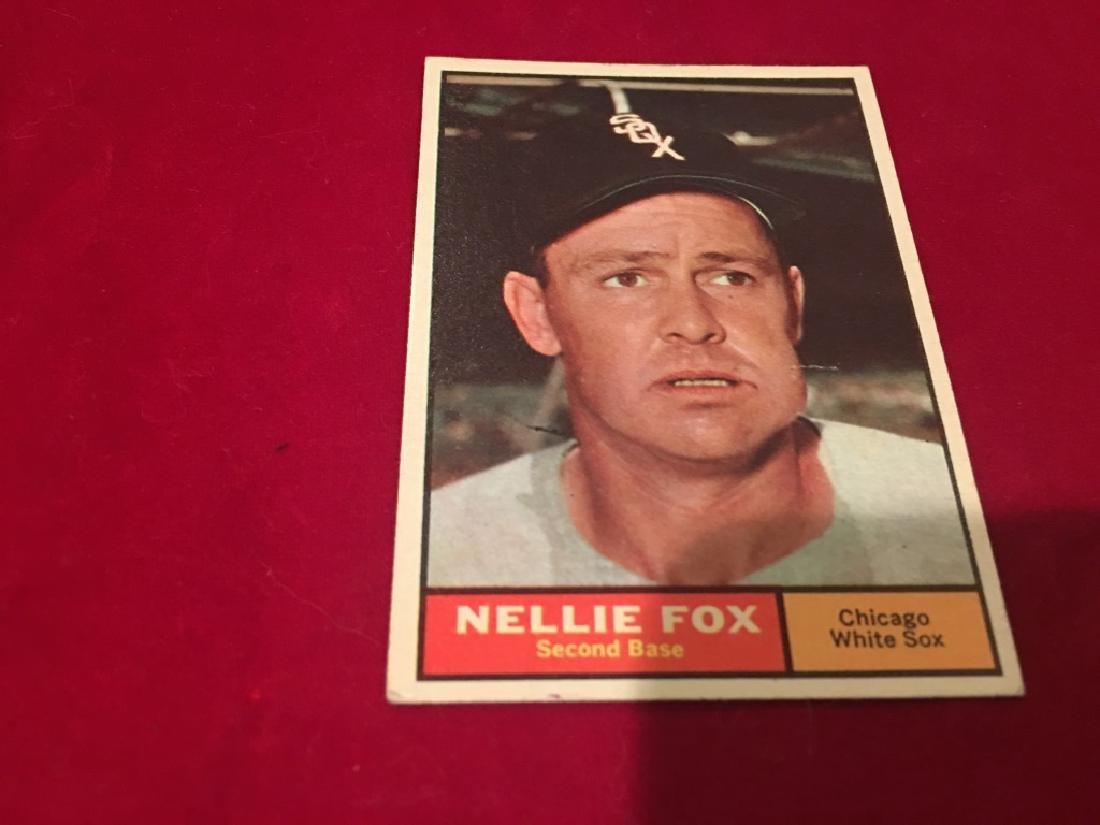 1961 Topps Set Break # 30 Nellie Fox