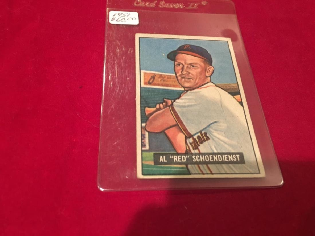 1951 Bowman Set Break #10 Red Schoendienst