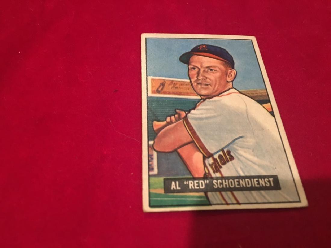 1951 Bowman Set Break #10 Red Schoendienst - 2