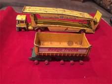 Vintage Diecast Guy Warrior Car Transporter