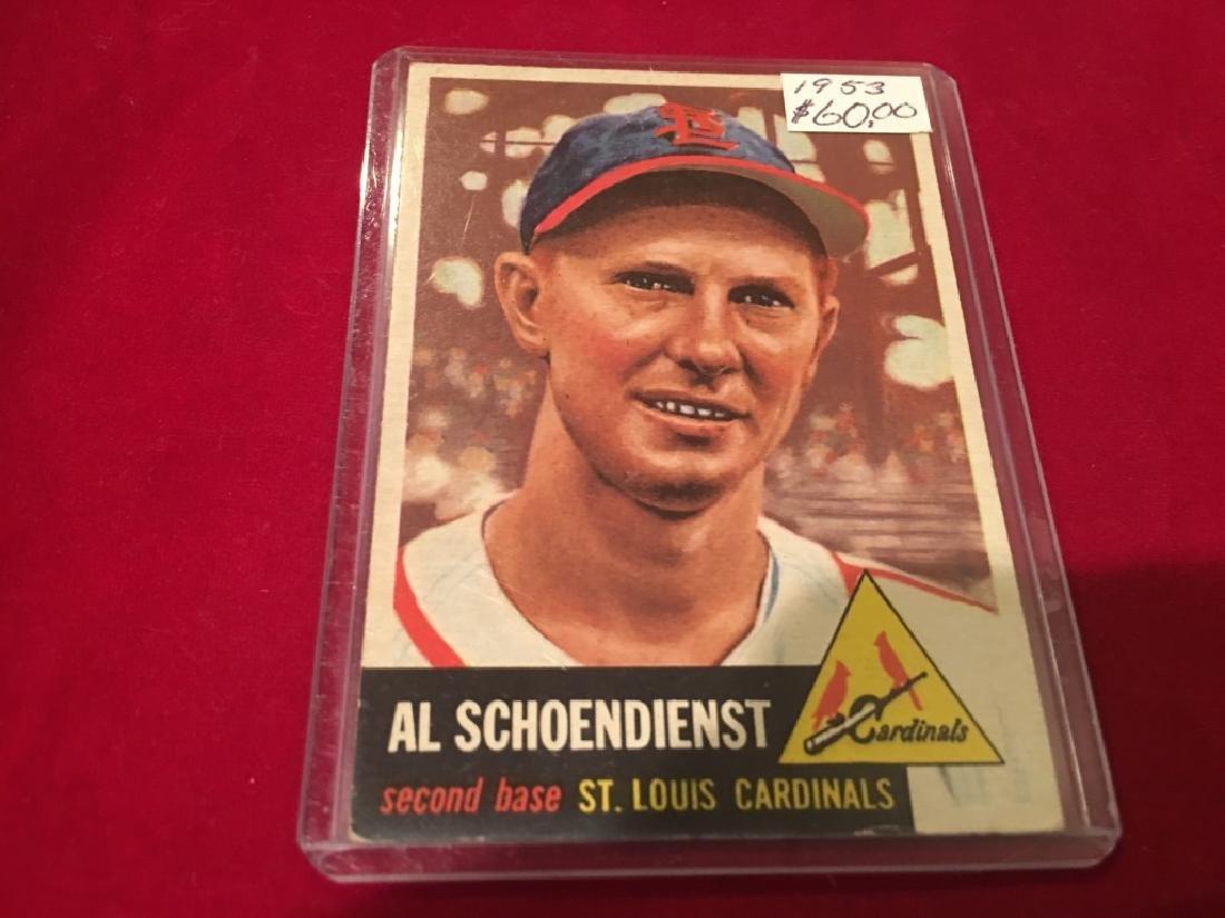 1953 Topps #78 Al Schoendienst St. Louis Cardinals
