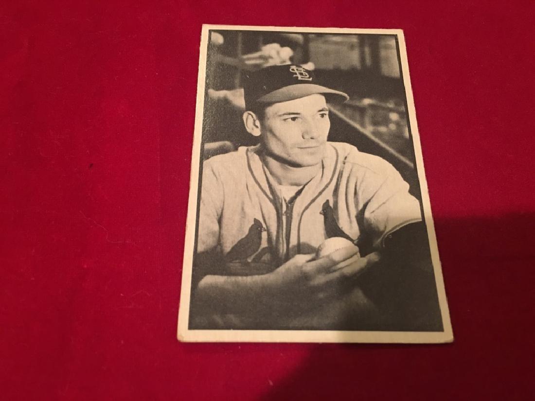 1953 Bowman B&W #16 Stu Miller RC EX-MT - 2