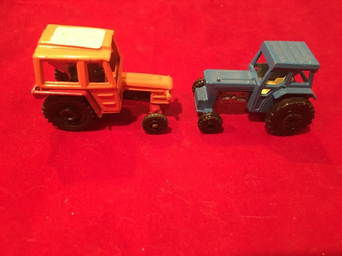 Corgi and Lesney Tractor Lot