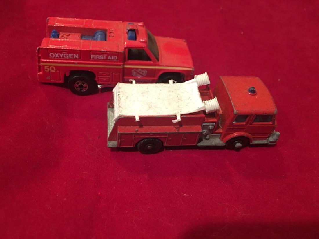 Vintage 1970s Matchbox +IBw-Fire Pumper Truck+IB0,