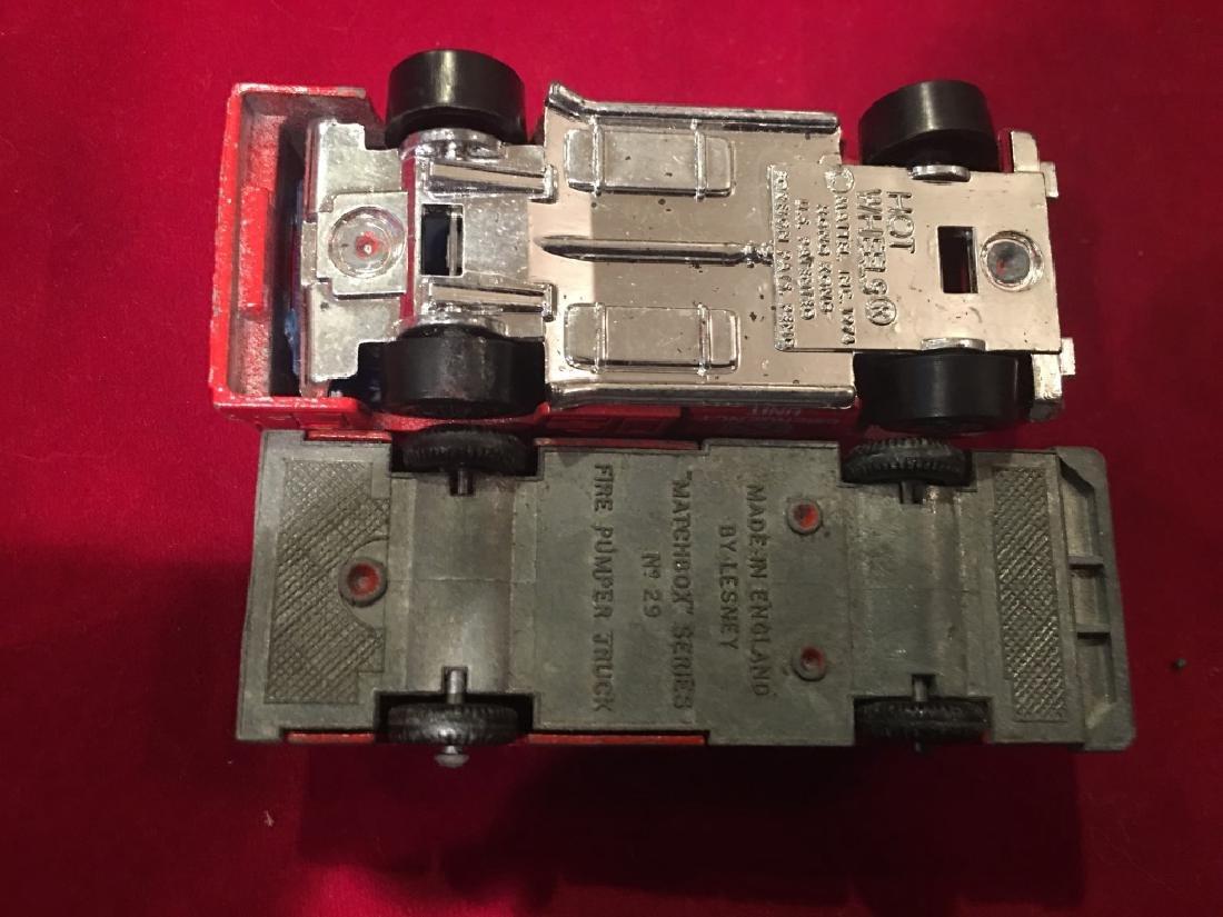 Vintage 1970s Matchbox +IBw-Fire Pumper Truck+IB0, - 2