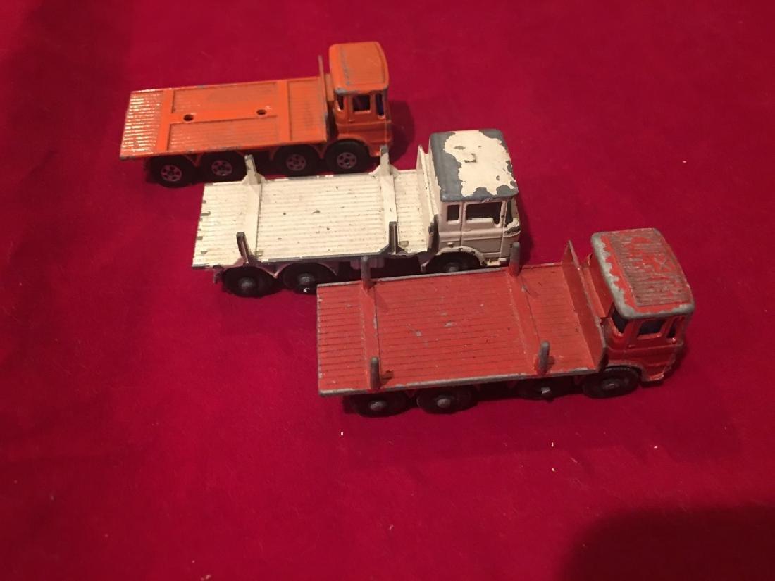 Lot of 3 Vintage Lesney Trucks