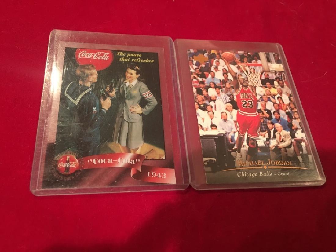 Michael Jordan and Coca Cola Lot