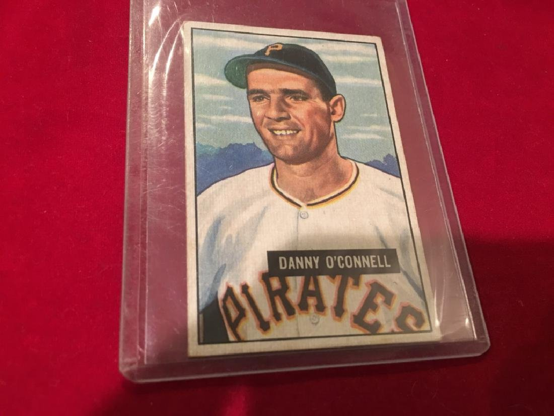 1951 Bowman #93 Danny O'Connell Pirates