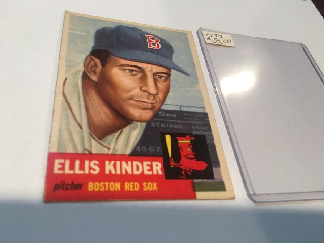 1953 Topps 44 Ellis Kinder SP