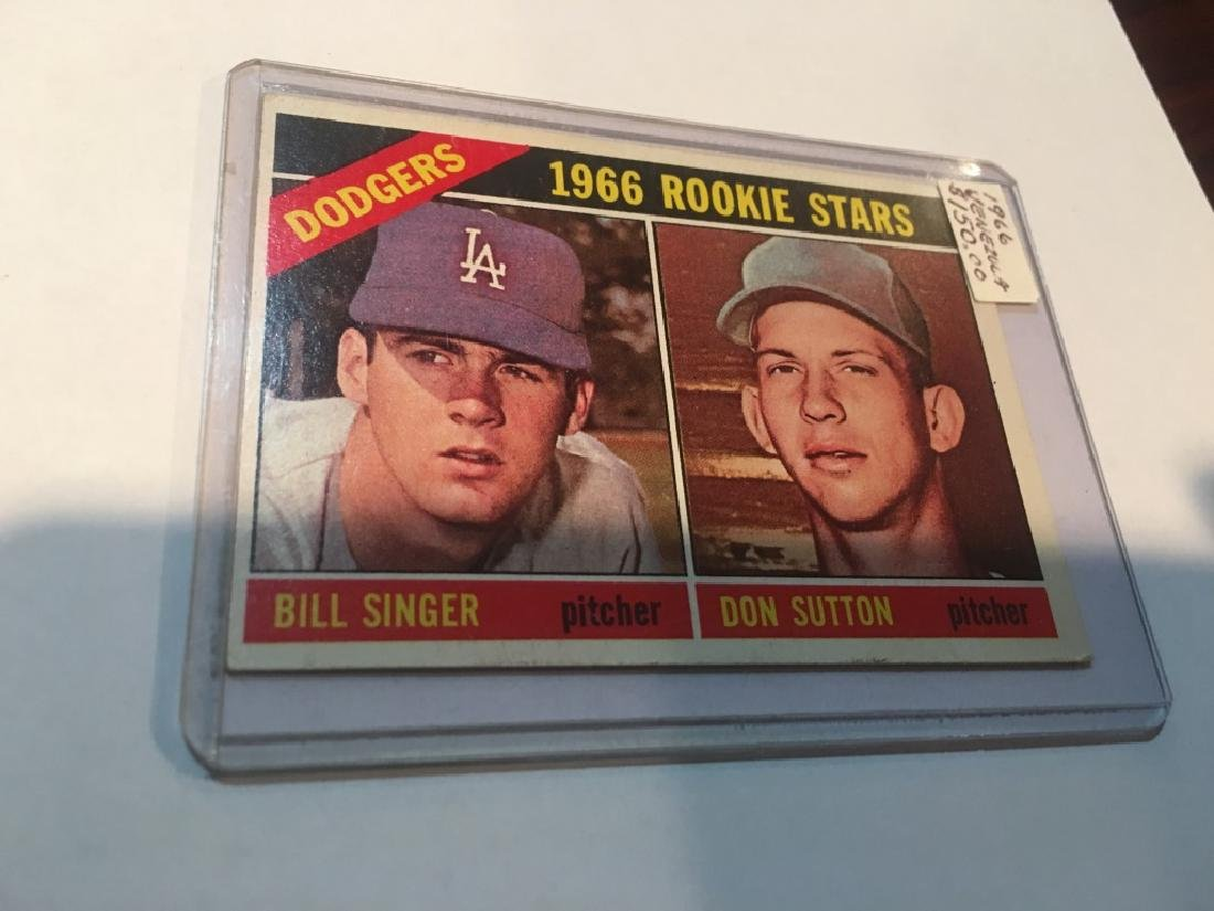 1966 Topps DON SUTTON # 288 LOS ANGELES DODGERS