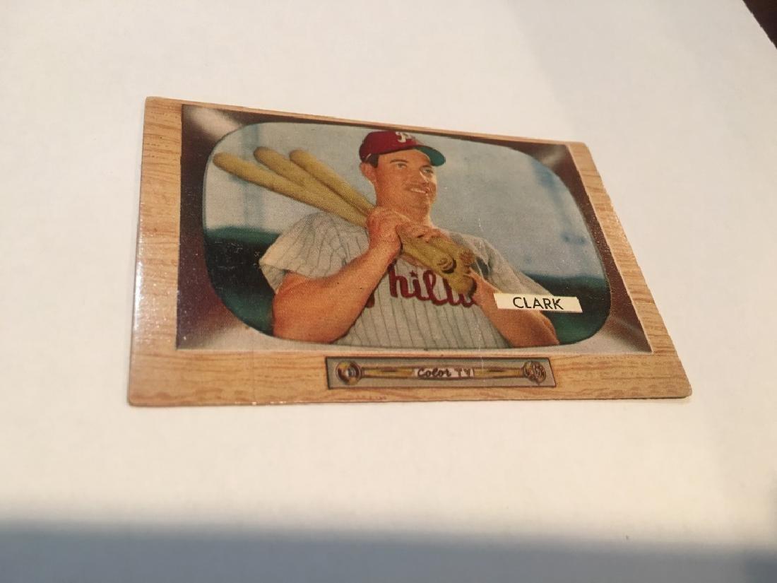 1955 Bowman #41 Mel Clark Philadelphia Phillies