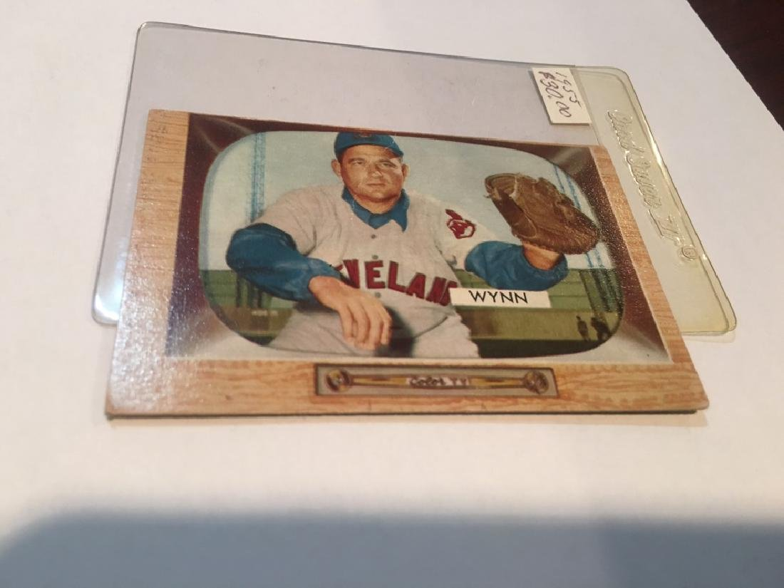 1955 BOWMAN EARLY WYNN #38 (30.00)