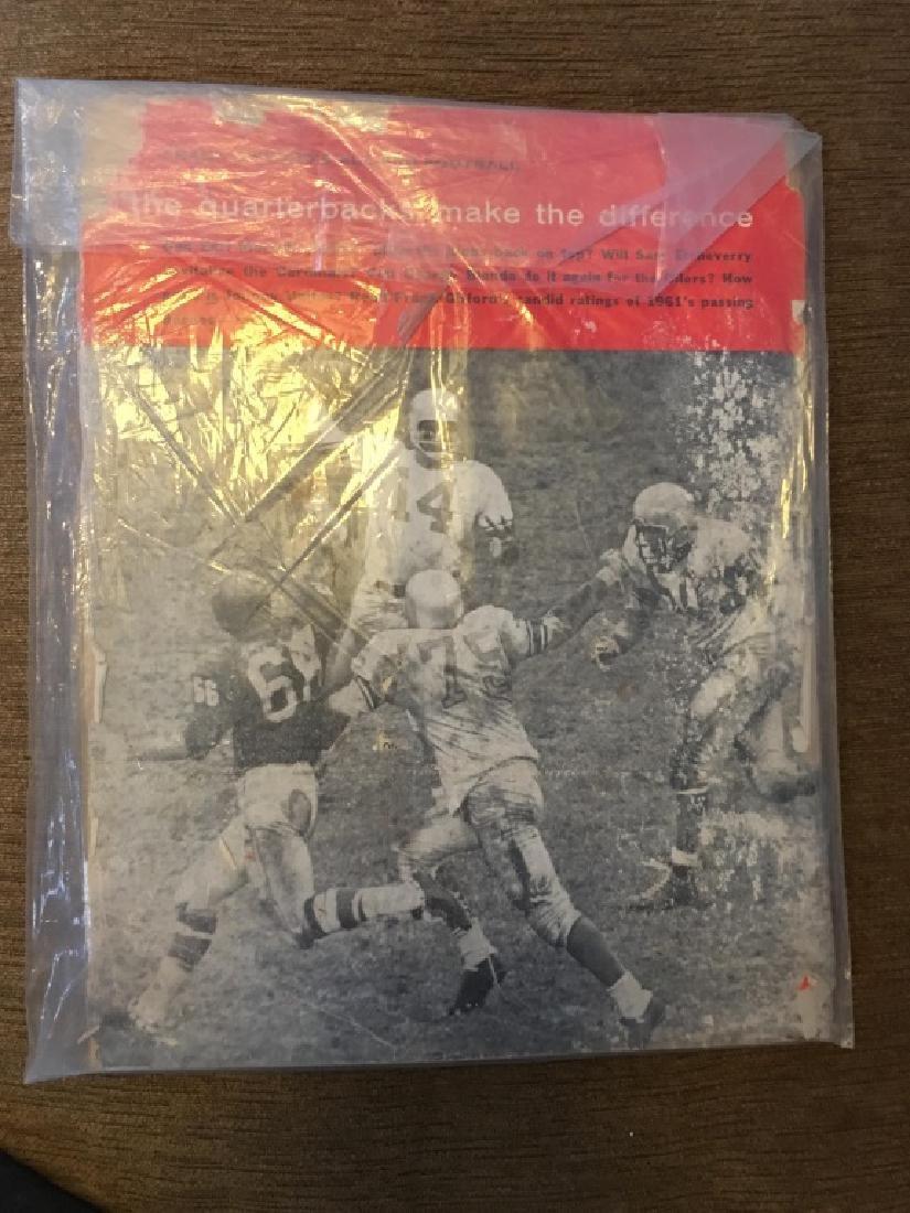 1961 Frank Gifford's All-Pro Football magazine - 2