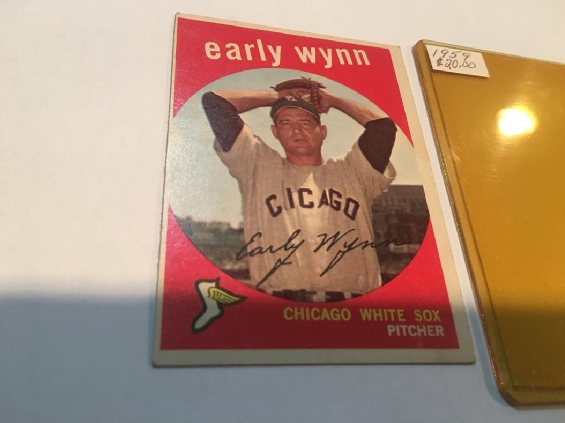 1959 Topps EARLY WYNN #260 Baseball Card