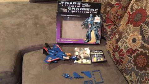 Vintage 1984 transformer Thunder Cracker
