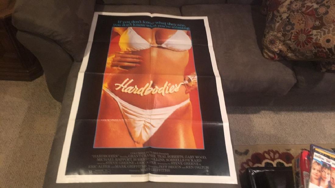 Hardbodies original movie poster 1984 Columbia
