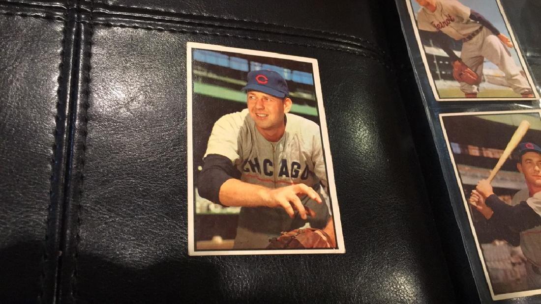 Bob Rush 1953 Bowman in very nice condition near