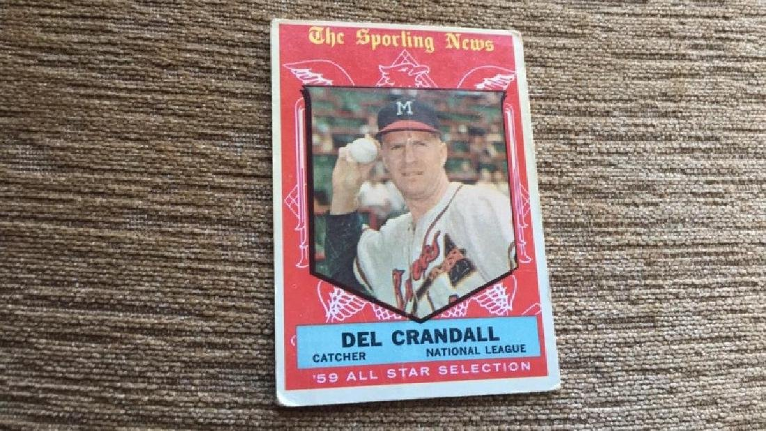 Dell Crandall sporting news 59  All  star
