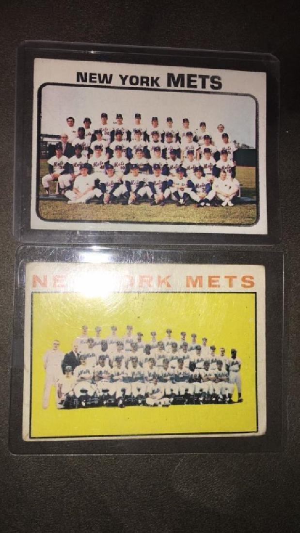 New York Mets 1960s team card lot