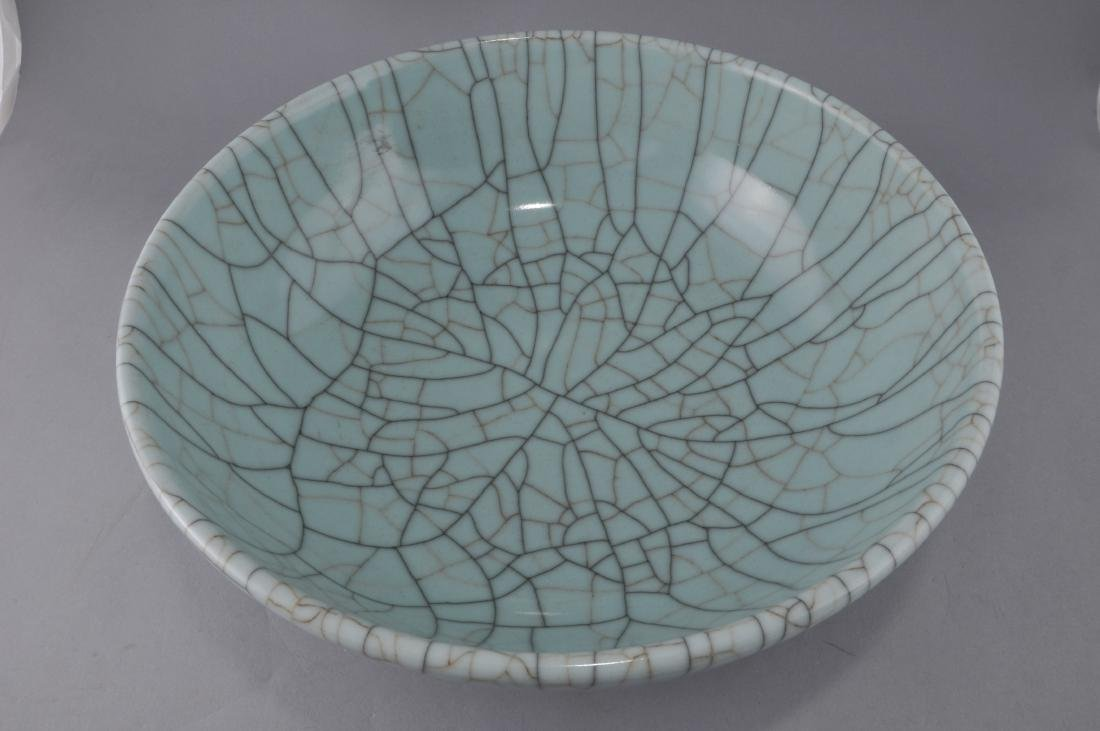 Porcelain bowl. China. Late 19th century. Kuan Yao - 3