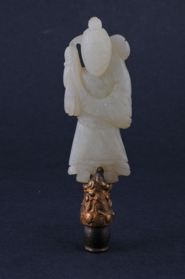 Lot of four Jade carvings. China. 19th to early 20th - 2