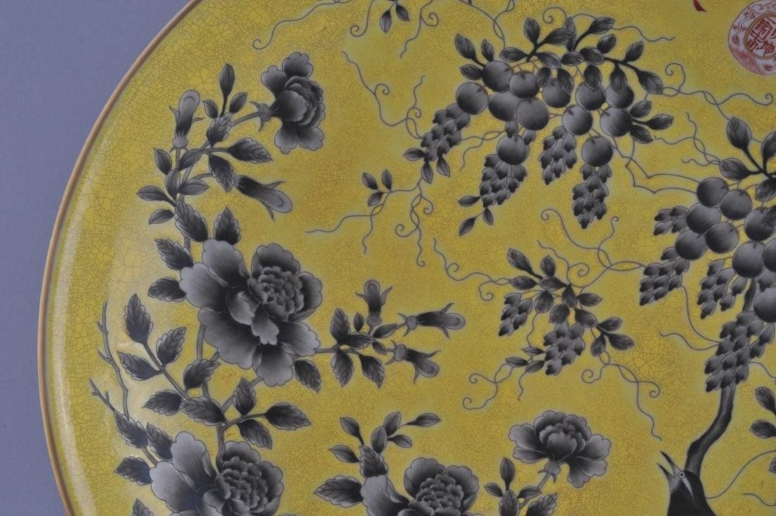 Porcelain plate. China. 20th century. Ta Ya Chai style - 3