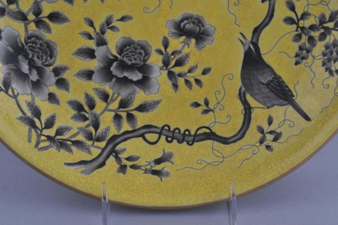 Porcelain plate. China. 20th century. Ta Ya Chai style - 5