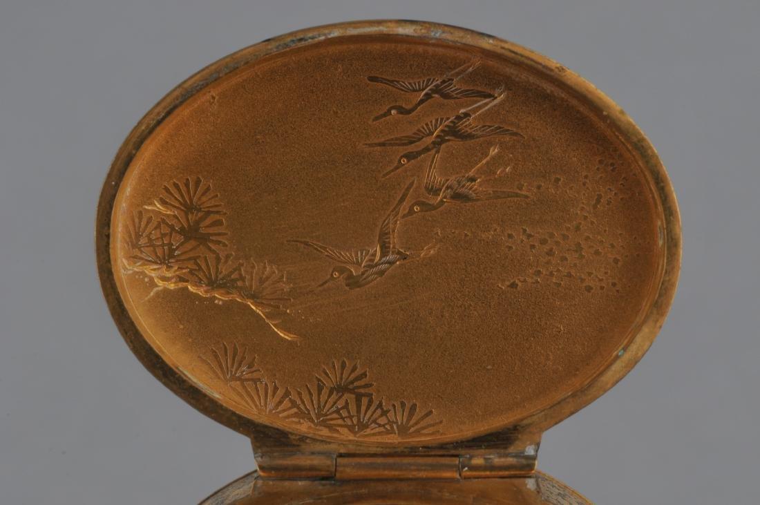 Metal work box. Japan. Meiji period. (1868-1912). Iron - 8