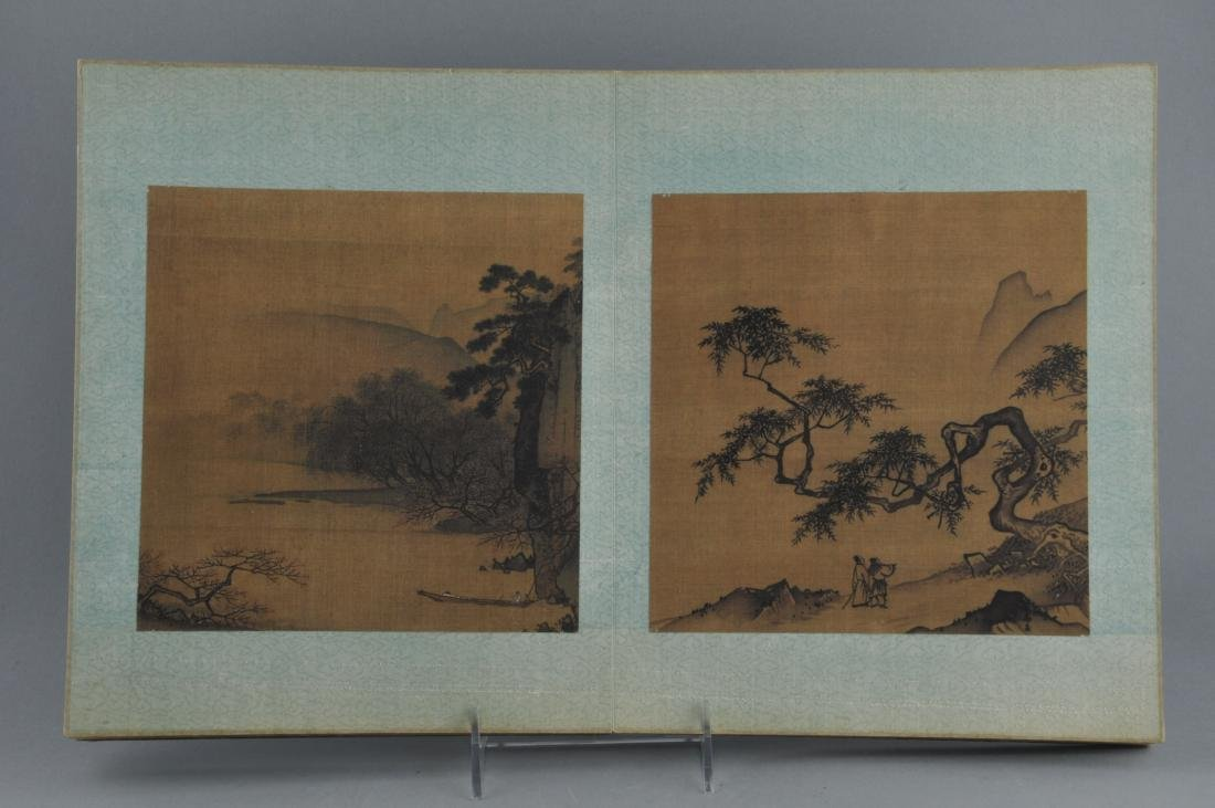 Album of paintings . China. Early 20th century. Nine - 2