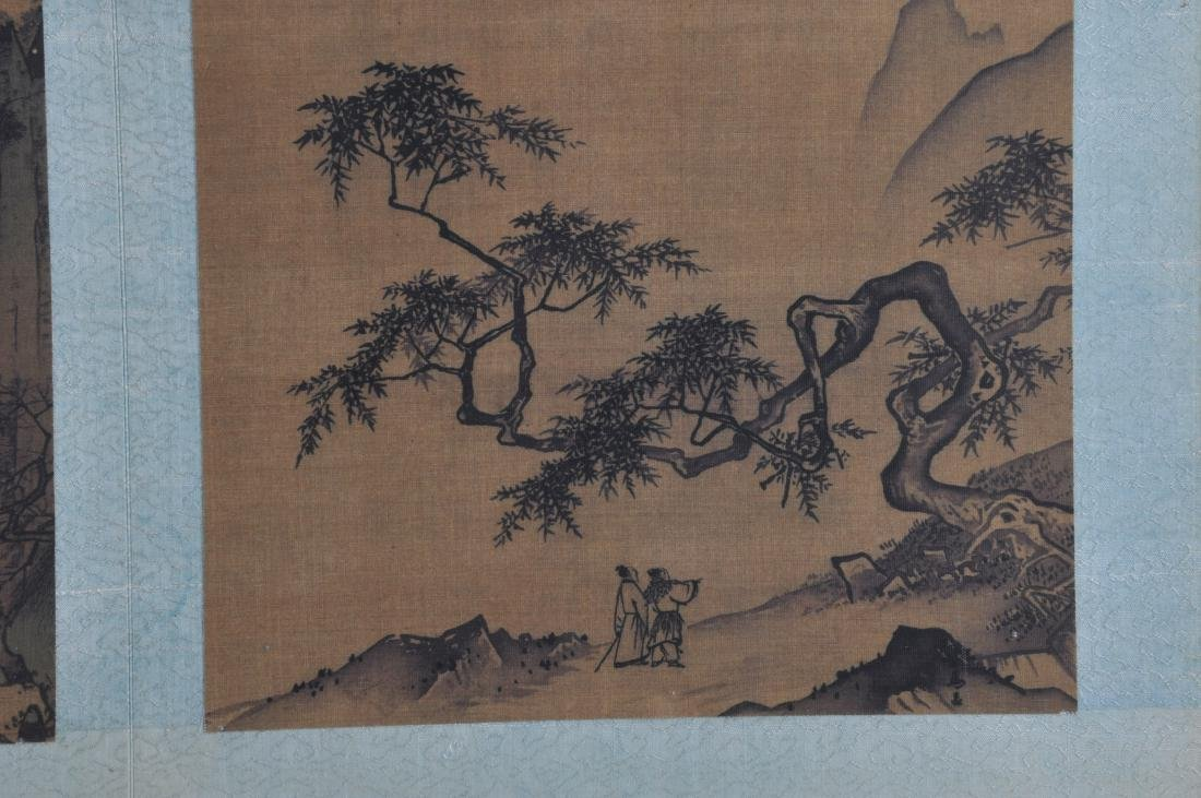 Album of paintings . China. Early 20th century. Nine - 3