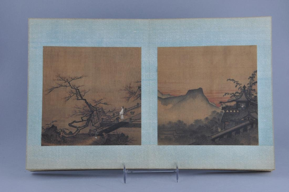 Album of paintings . China. Early 20th century. Nine - 5