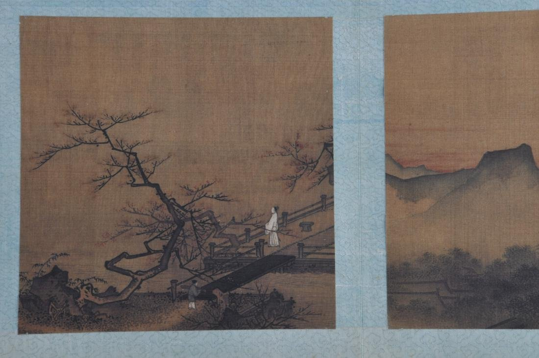 Album of paintings . China. Early 20th century. Nine - 6