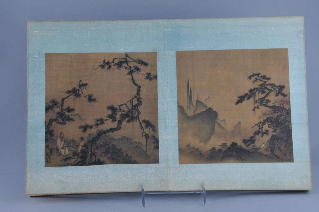 Album of paintings . China. Early 20th century. Nine - 8