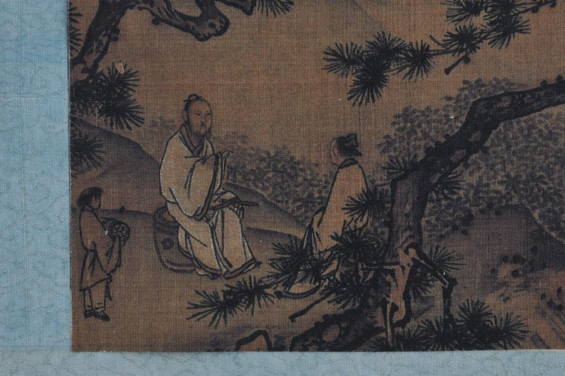 Album of paintings . China. Early 20th century. Nine - 9
