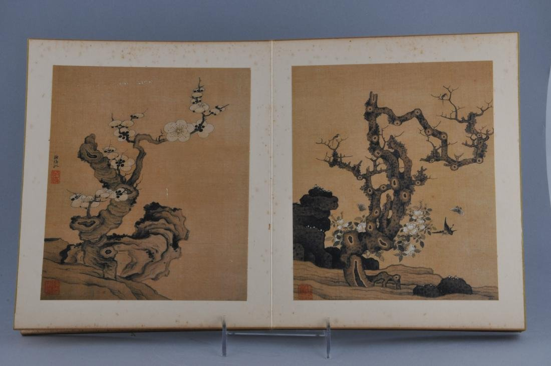 Album of paintings. China. Early 20th century. Ten - 2