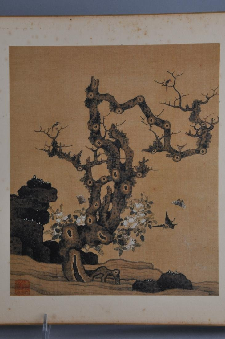 Album of paintings. China. Early 20th century. Ten - 3
