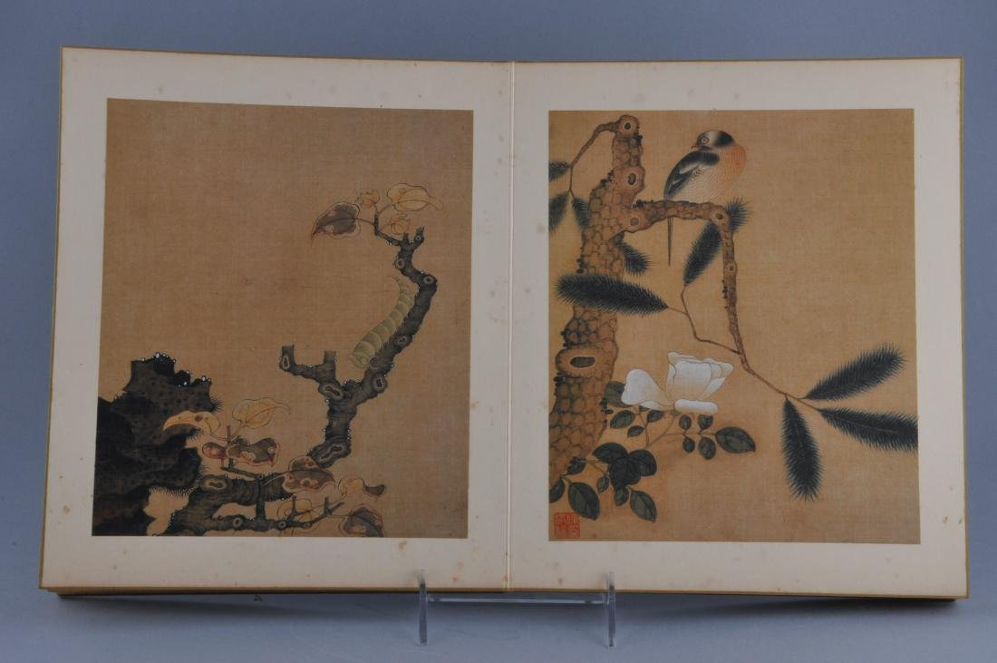 Album of paintings. China. Early 20th century. Ten - 5