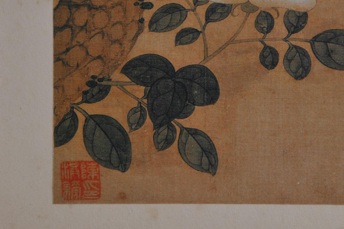 Album of paintings. China. Early 20th century. Ten - 7