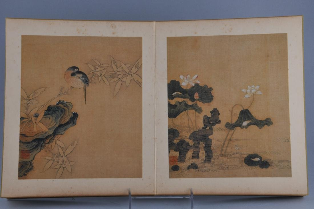 Album of paintings. China. Early 20th century. Ten - 8
