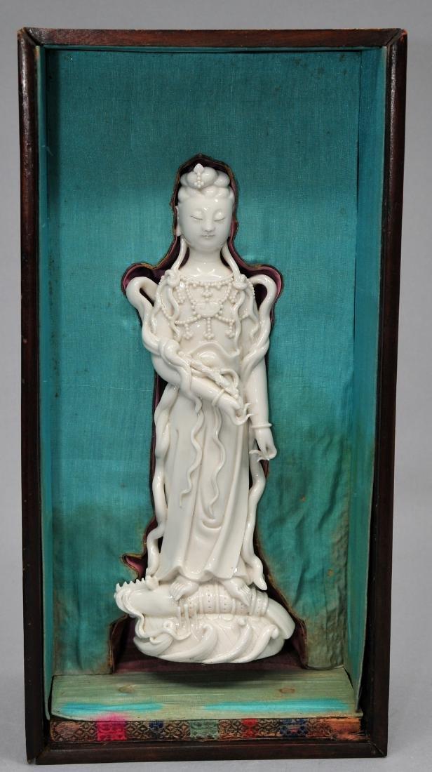 Porcelain figure. China. 19th century. Te Hua ware.